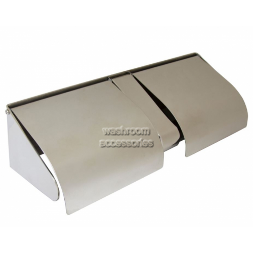 View Double Toilet Roll Holder Lockable and Hooded details.