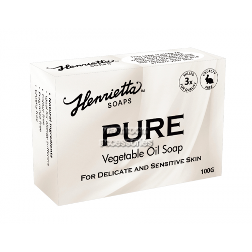 View Pure Vegetable Oil Soap 100g details.