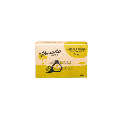 Lemon Scented Tea Tree Oil Soap 100g