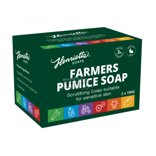 View Farmers Pumice Soap details.