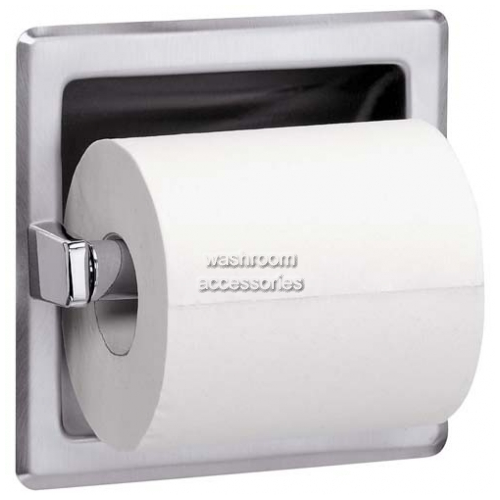 View 5104 Toilet Roll Holder, Recessed details.