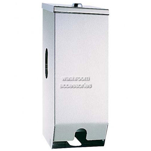 View 5442 Dual Toilet Roll Dispenser, Lockable details.