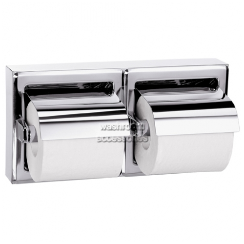 5126 Dual Roll Holder, Hooded, Surface Mount