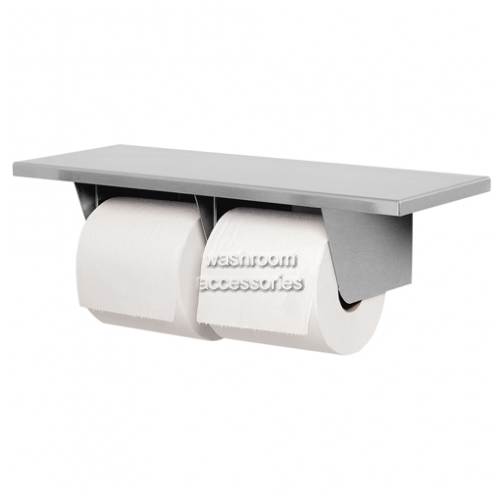 526 Toilet Roll Holder with Shelf