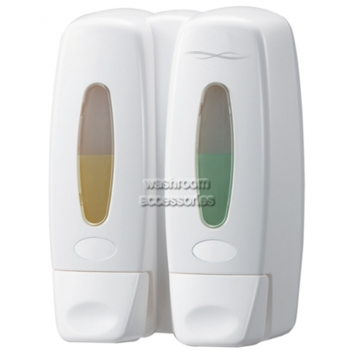 View 6153 Dual Soap Dispenser, 2 x 360mL details.