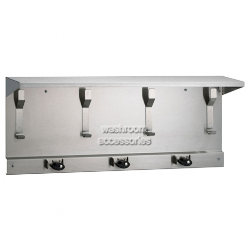 View 993 Utility Shelf with Hooks and Holders details.
