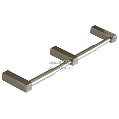View TR023 Double Toilet Roll Holder No Hoods details.