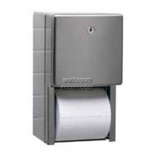 B4288 Dual Toilet Roll Holder Surface Mounted