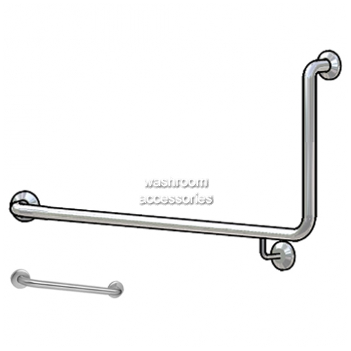 Toilet Grab Rail Set WA80601 90 degree