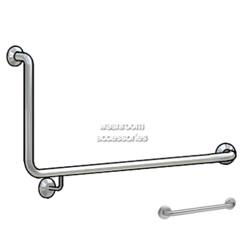 View Toilet Grab Rail Set BBR-015 90 degree details.