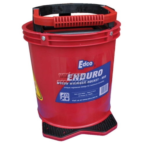 View Red Enduro Bucket with Plastic Wringer details.