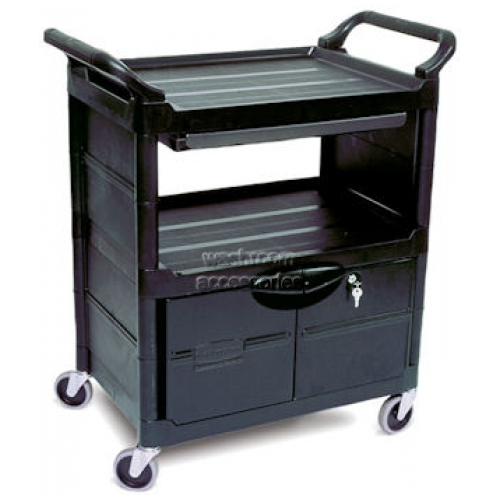 View 3457 Utility Cart with Lockable Doors details.