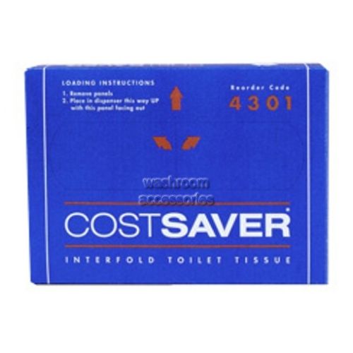View 4301 Interfold Toilet Tissue, 200 Sheets details.