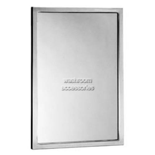 View B165 Glass Mirror With Channel Framing details.