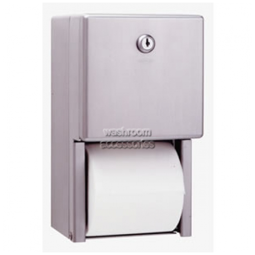 View B2888 Toilet Tissue Dispenser Double details.