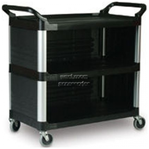 View 4093 Utility Cart with Enclosed 3-Side Panels details.