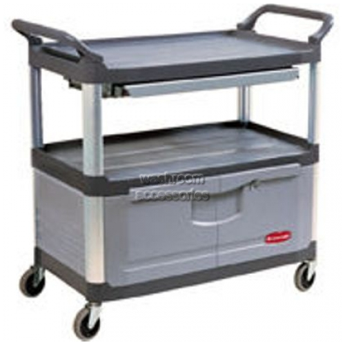 View 4094 Instrument Cart with Lock Doors and Slide Drawer details.