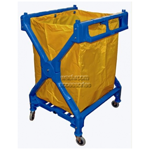View 19091 Delux Scissor Trolley with Bag 155L details.